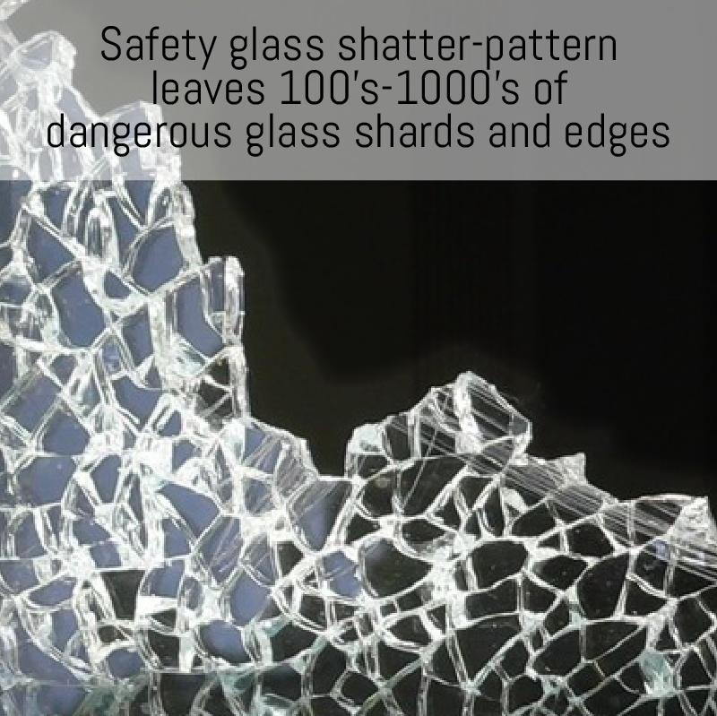non shatter splashback
