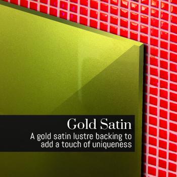 Gold Splashbacks