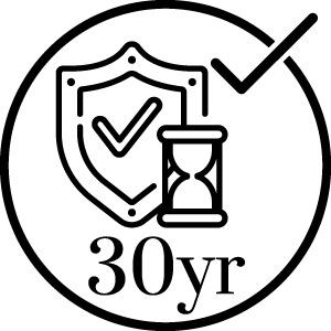 30 year panel warrantee